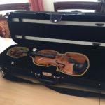 Раритетная скрипка XIX века прибыла в Омск