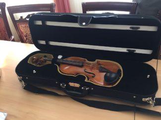 Главный приз IV Международного конкурса скрипачей им. Ю. И. Янкелевича доставлен в Омск