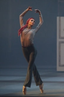 «Письмо к Руди»: Дива – Светлана Захарова. Фото - Дамир Юсупов / Большой театр
