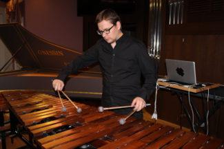 Андрей Дойников, маримба Marimba One. Фото - Полина Полянская