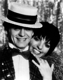 Михаил Барышников и Лайза Минелли на Бродвее. 1980 год