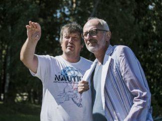 Борис Березовский и Александр Гордон. Фото - Светлана Маликова