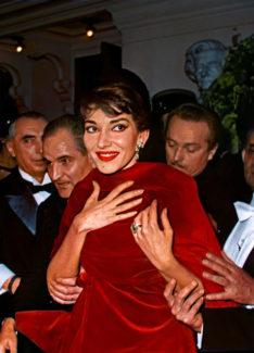 Мария Каллас на гала-концерте в честь ордена Почетного легиона в Парижской опере, 1958 год. Фото - Fonds de Dotation Maria Callas