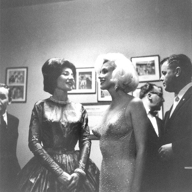 С Мэрилин Монро на дне рождения Джона Кеннеди, 1962 год. Фото - Fonds de Dotation Maria Callas