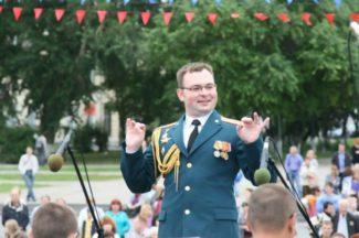 Военный дирижер Александр Гаврилин. Фото - из личного архива А. Гаврилина