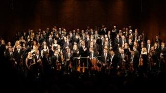 Оркестр MusicAeterna иТеодор Курентзис исполнили Седьмую симфонию Шостаковича