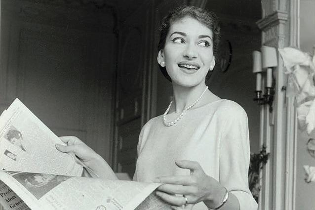 Мария Каллас, Лондон, 1958 год. Фото - Fonds de Dotation Maria Callas