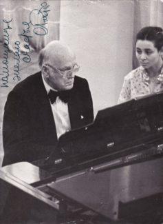 Святослав Рихтер и Людмила Берлинская. Фото из архива Л. Берлинской