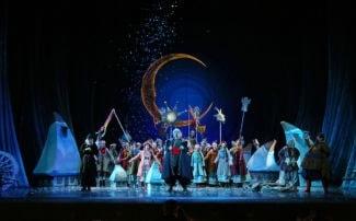 """В Театре им. Наталии Сац показали """"Ночь перед Рождеством"""". Фото - Елена Лапина"""