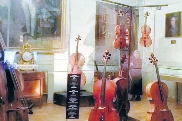Выставка «Русский Страдивари. Иван Андреевич Батов» в Шереметевском дворце. Фото - Ирина Смирнова