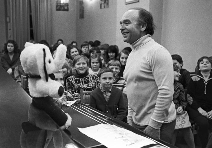 Владимир Шаинский, 1981 год. Фото - В. Худяков/ТАСС