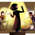 Google подготовила дудл в честь дня рождения первой женщины-дирижера в СССР