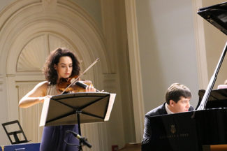Алёна Баева и Вадим Холоденко. Фото - Инесса Кудрявцева