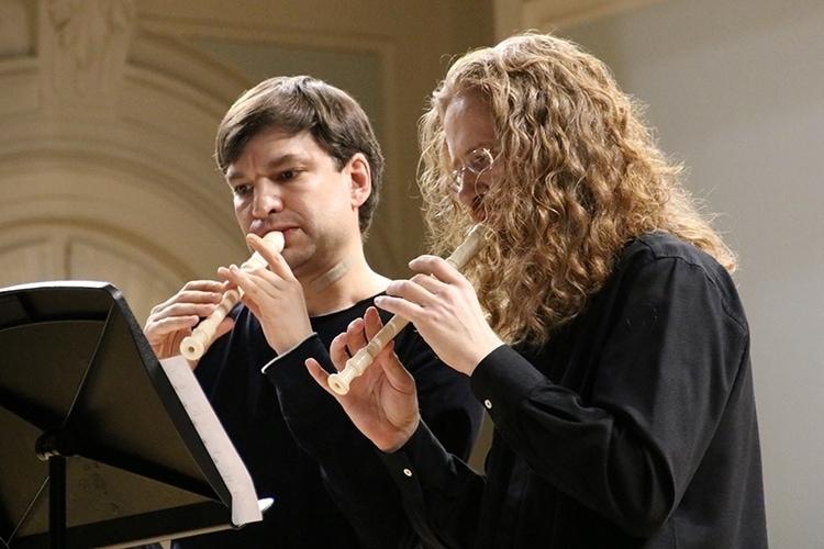 Дмитрий Булгаков и Роман Минц. Фото - Инесса Кудрявцева