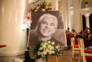 Концерт памяти Дмитрия Хворостовского в Санкт-Петербургской филармонии. Фото - Stas Levshin