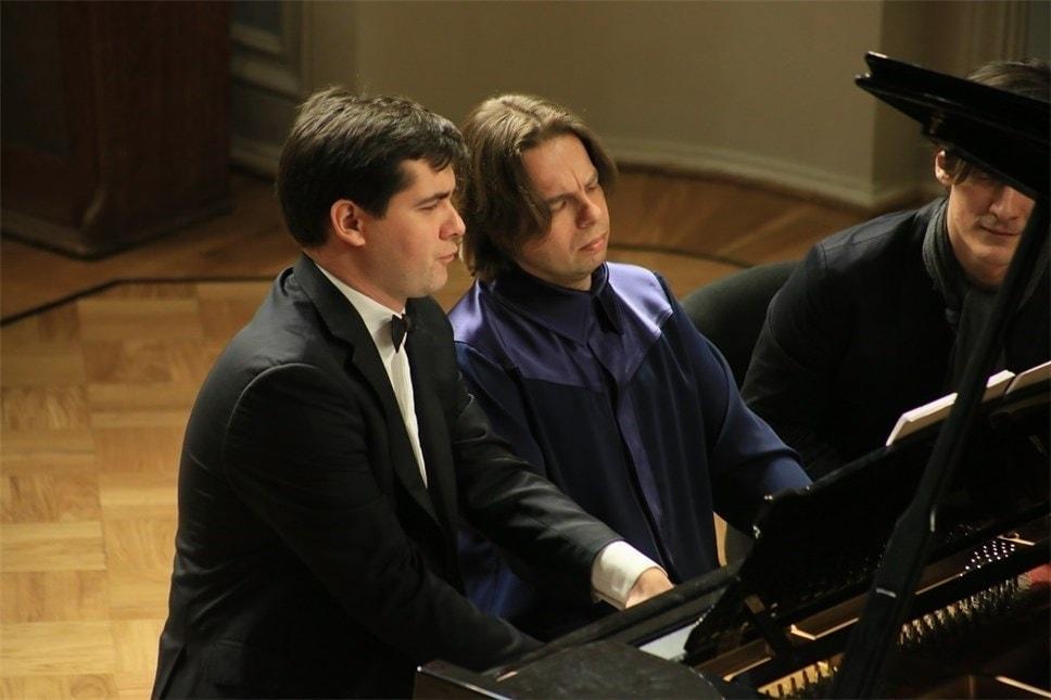 Вадим Холоденко и Яков Кацнельсон. Фото - Ирина Шымчак