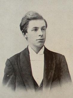 А. Н. Скрябин в 1892 году