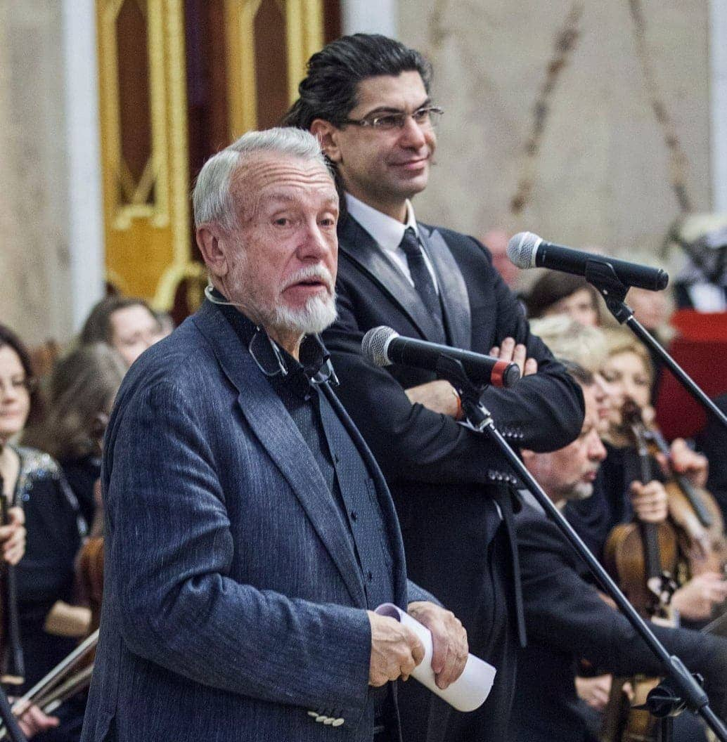 Владимир Гусев и Николай Цискаридзе