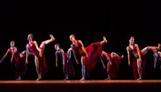 """На Зимнем фестивале искусств итальянские артисты представили балет """"Средиземноморье"""""""