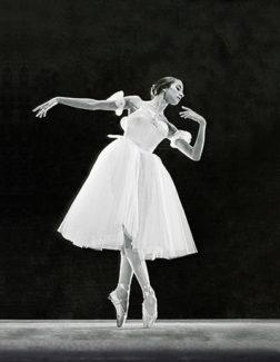 """Наталия Бессмертнова в заглавной партии в балете """"Жизель"""""""