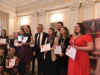 В Санкт-Петербурге состоялся Международный конкурс «Золотые ключи»