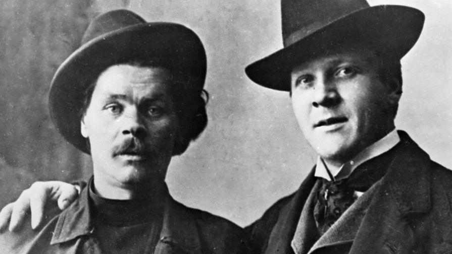 Алексей Максимович Горький и Федор Иванович Шаляпин, 1903 год