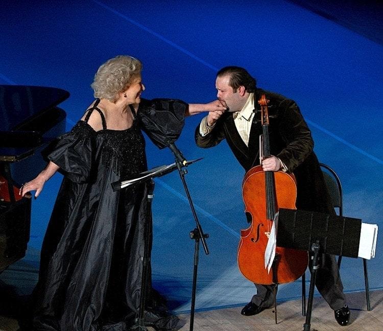 С Еленой Образцовой на фестивале BelgorodMusicFest. Фото - из личного архива