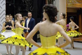 Оркестровая репетиция «Пахиты». Фото - Екатеринбургский театр оперы и балета