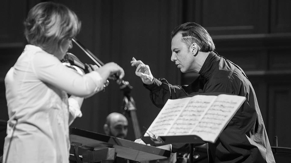 Елена Ревич и Теодор Курентзис. Фото - Александра Муравьева