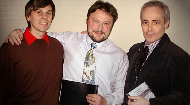 Антон Фёдоров, Борис Тараканов и Хосе Каррерас