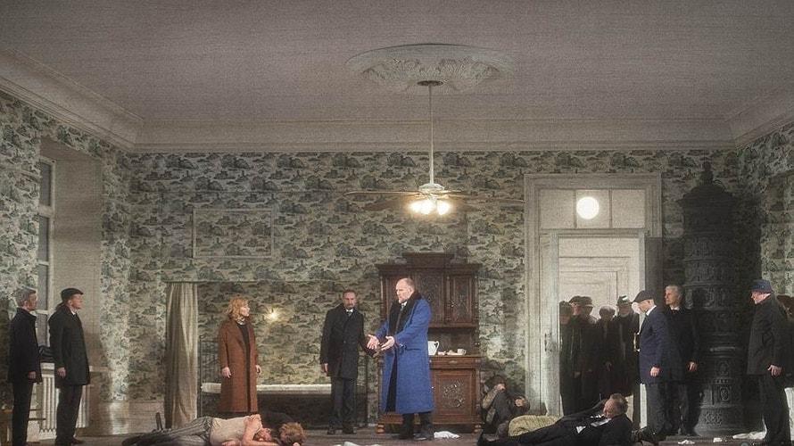 В новом «Тристане», поставленном Дмитрием Черняковым на обновленной сцене берлинской Штаатсопер, нет любви. Фото - Monika Rittershaus / Staatsoper Berlin