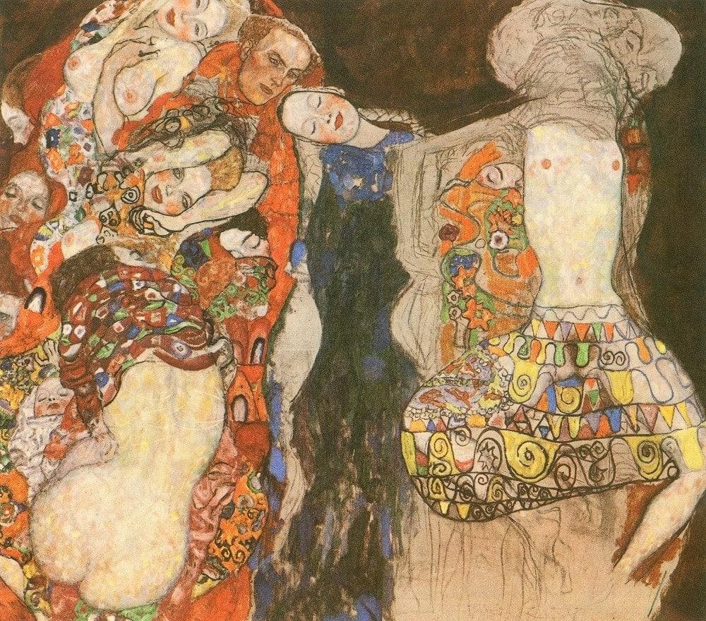 """Густав Климт. """"Невеста"""" (незавершенное)"""