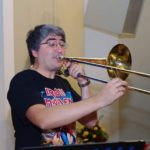 Солист оркестра Большого театра тромбонист Эркин Юсупов
