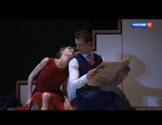 """Светлана Захарова и Семён Чудин в """"Анне Карениной"""" Джона Ноймайера"""
