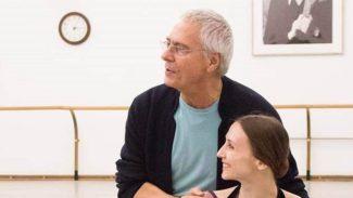Джон Ноймайер и Светлана Захарова. Фото - Михаил Логвинов/Большой театр