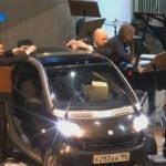 В Омске сыграли симфонию для оркестра и двух автомобилей