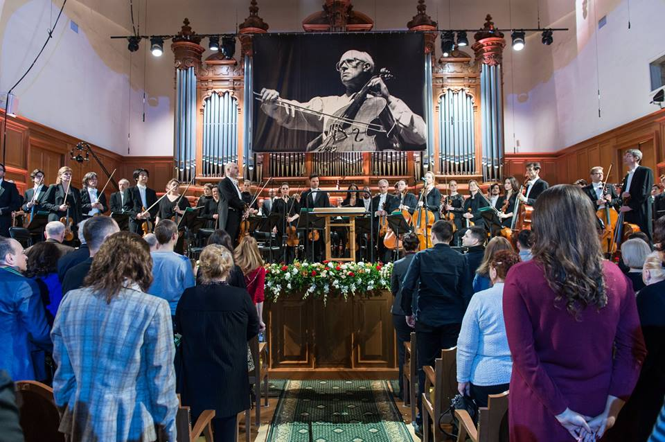 На открытии Фестиваля Мстислава Ростроповича вспоминали жертв трагедии в Кемерове. Фото - Александр куров