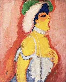 Кес Ван Донген. Модьеско, певица сопрано, 1907 год. Музей современного искусства, Нью-Йорк