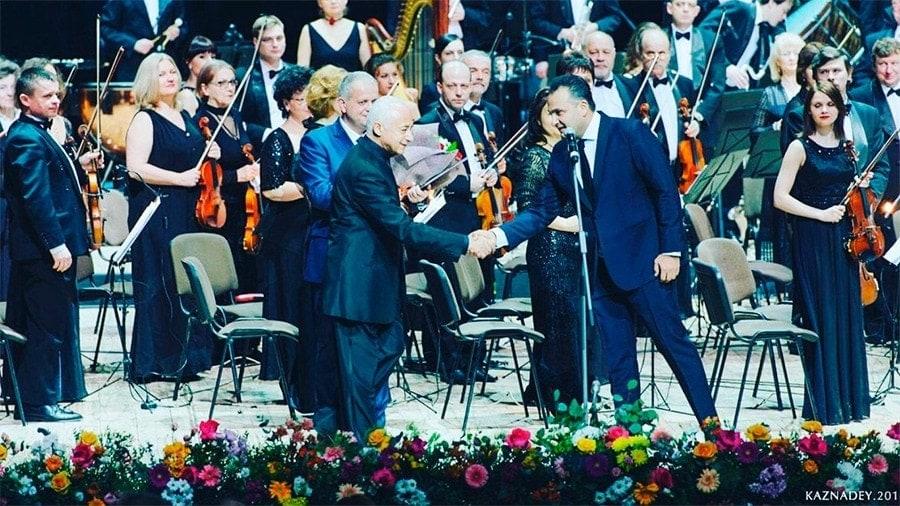 После концерта Владимира Спивакова