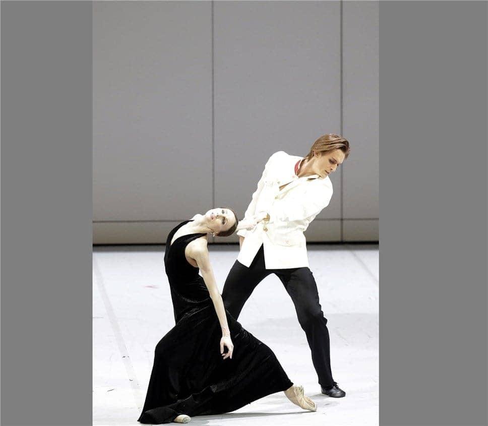 Светлана Захарова и Денис Родькин. Фото - Дамир Юсупов