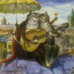 Питерские коты. Владимир Румянцев