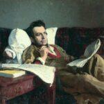 Михаил Глинка во время работы над оперой «Руслан и Людмила». Портрет работы И. Е. Репина