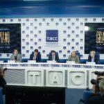 енис Мацуев ответил на вопросы журналистов в пресс-центре ТАСС.