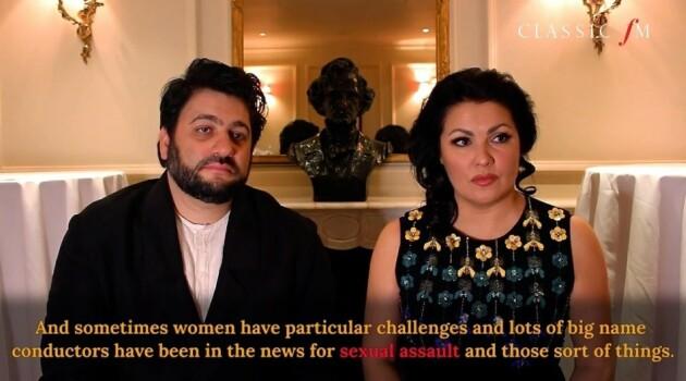 Анна Нетребко и Юсиф Эйвазов в интервью Classic FM