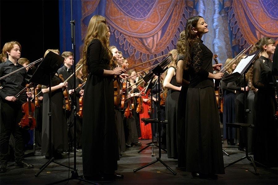 Фестиваль детско-юношеских оркестров «Мариинский NEXT»