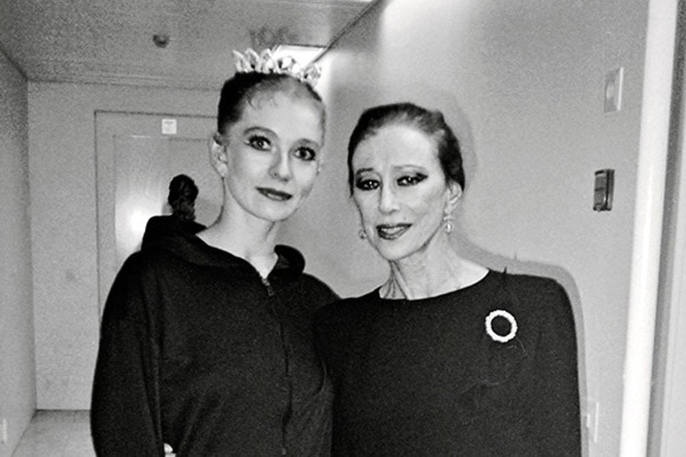 Татьяна Предеина и Майя Плисецкая. Фото - архив Татьяны Предеиной