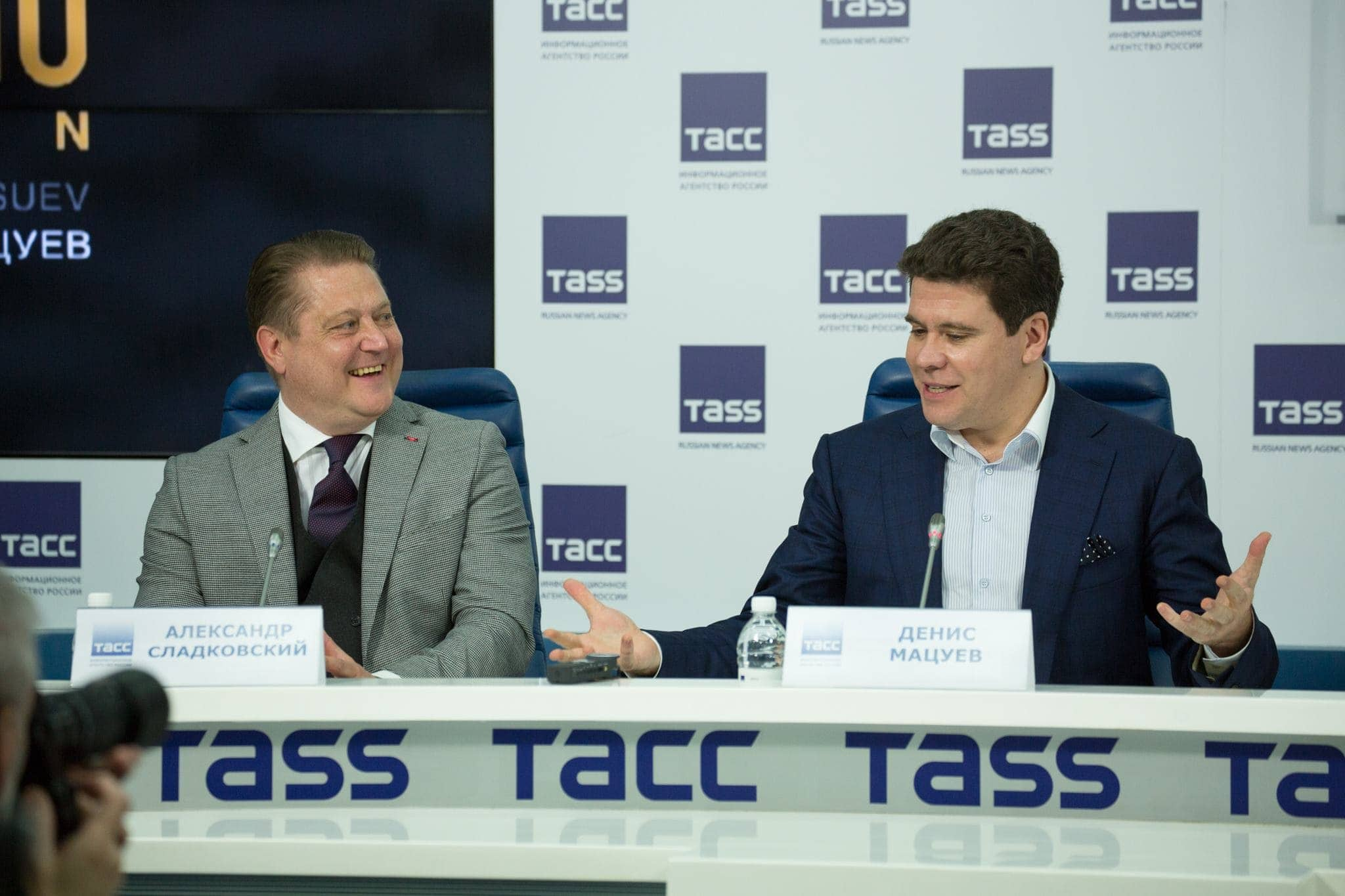 Александр Сладковский и Денис Мацуев