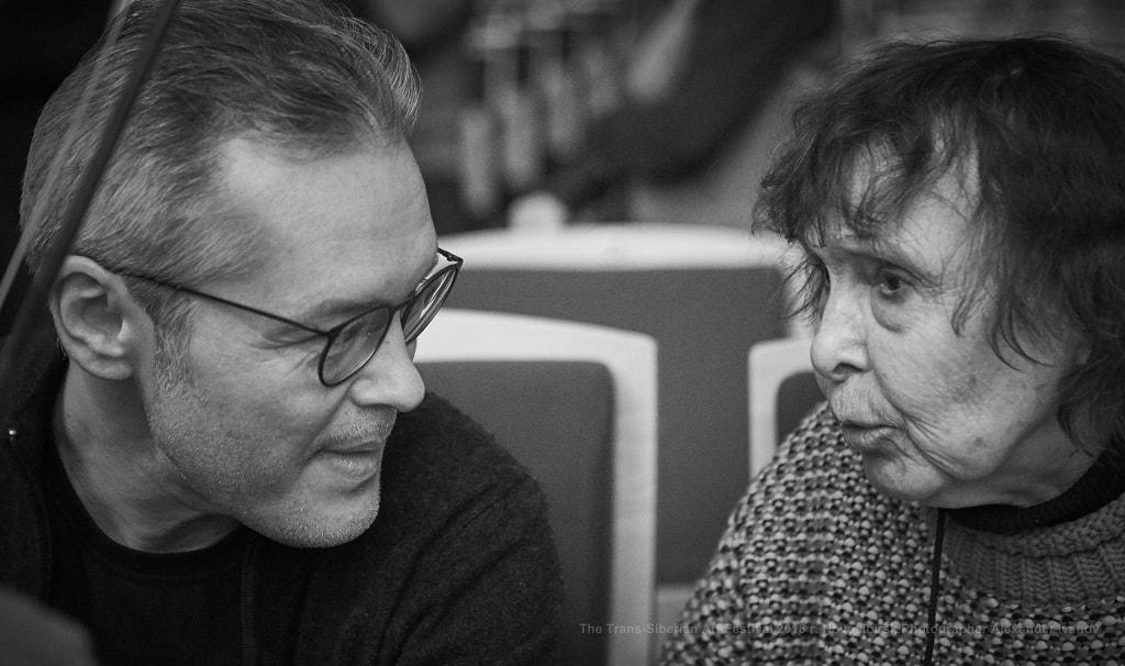 Вадим Репин и София Губайдулина. Фото - Александр Иванов