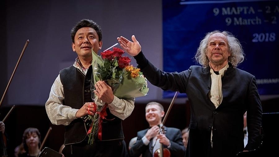 Юкио Йокояма и АндресМустонен. Фото - Александр иванов