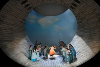 """Демон"" Антона Рубинштейна в театре Лисеу. Фото - A. Bofill / Gran Teatre del Liceu"